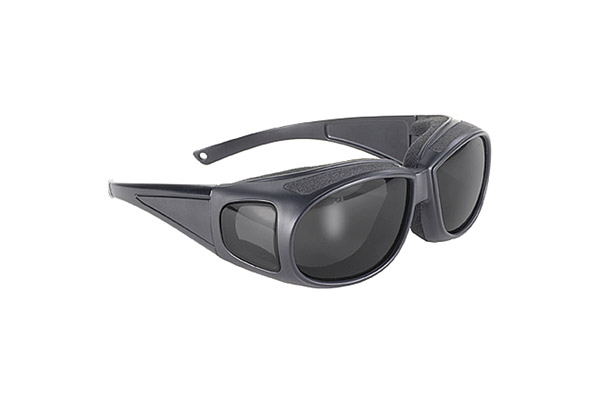 Pacific Coast Sunglasses Kickstart Defender Padded Sunglasses with Smoke Lens