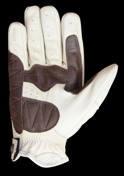 Roland Sands Design Dezel Sand Leather Gloves