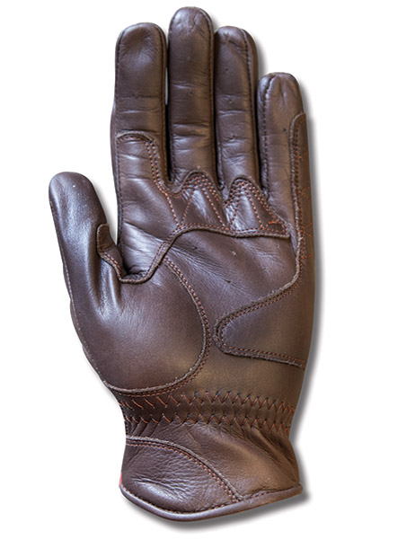 Roland Sands Design Barfly Men's Tobacco Brown Leather Gloves