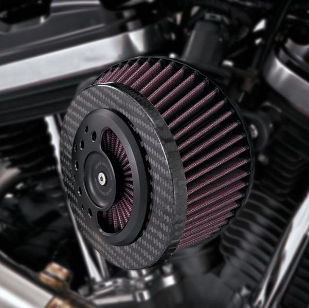 Roland Sands Design Slant Carbon Fiber Air Intake Kit
