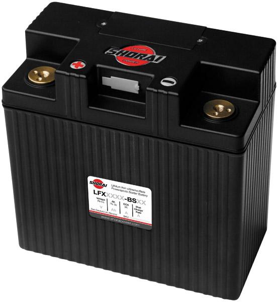 Shorai Xtreme-Rate LifePO4 LFX Lithium Duration Battery