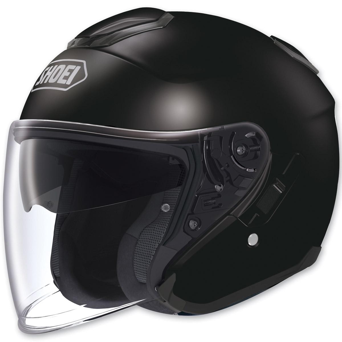 Shoei J-Cruise Open Face Black Helmet