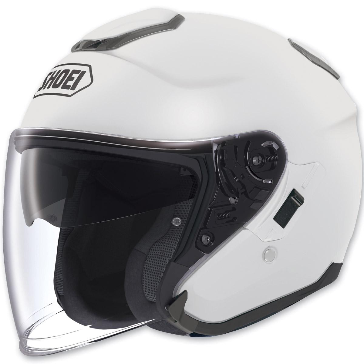 Shoei J-Cruise Open Face White Helmet