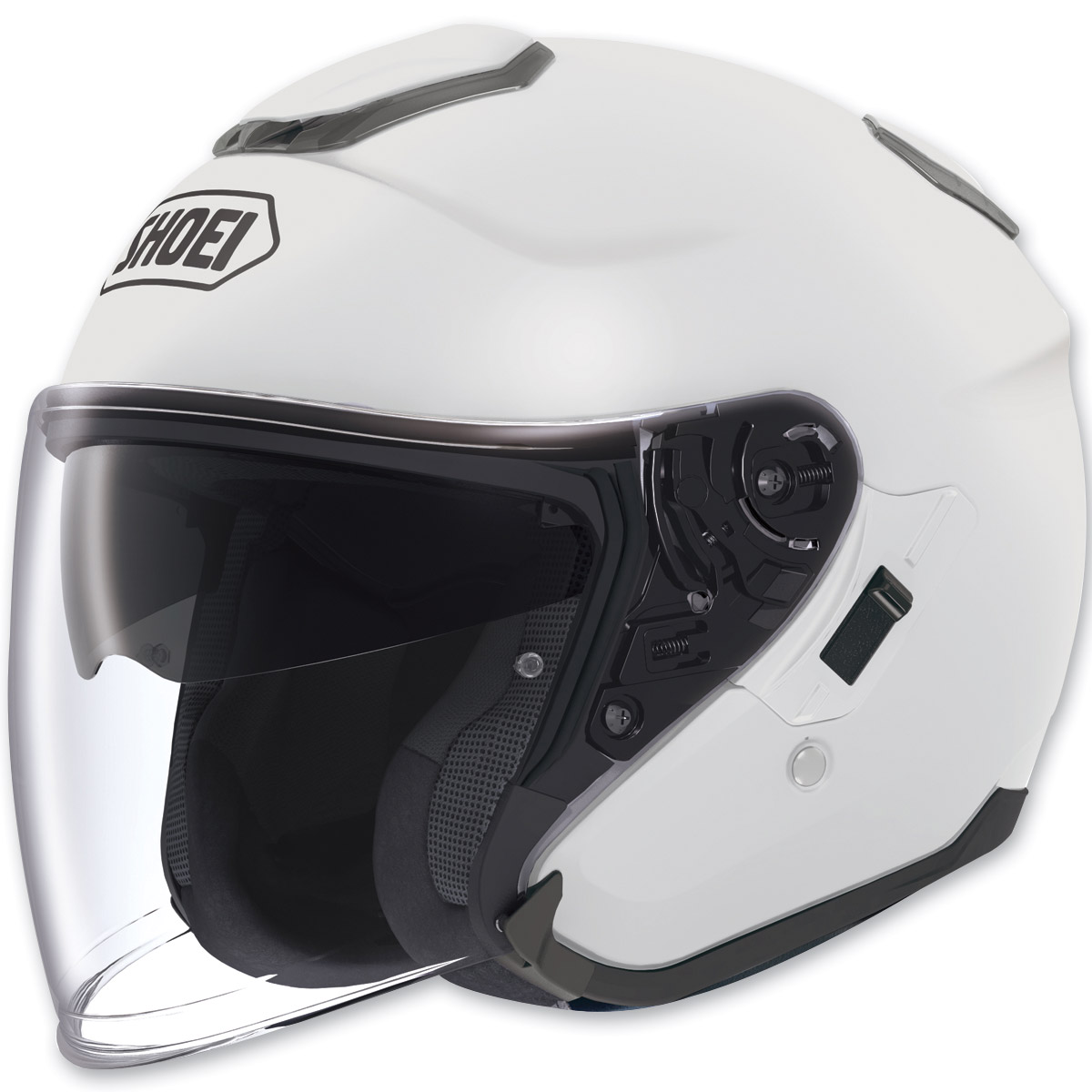 a453b49c Shoei J-Cruise Open Face White Helmet - 0130-0109-07 | JPCycles.com