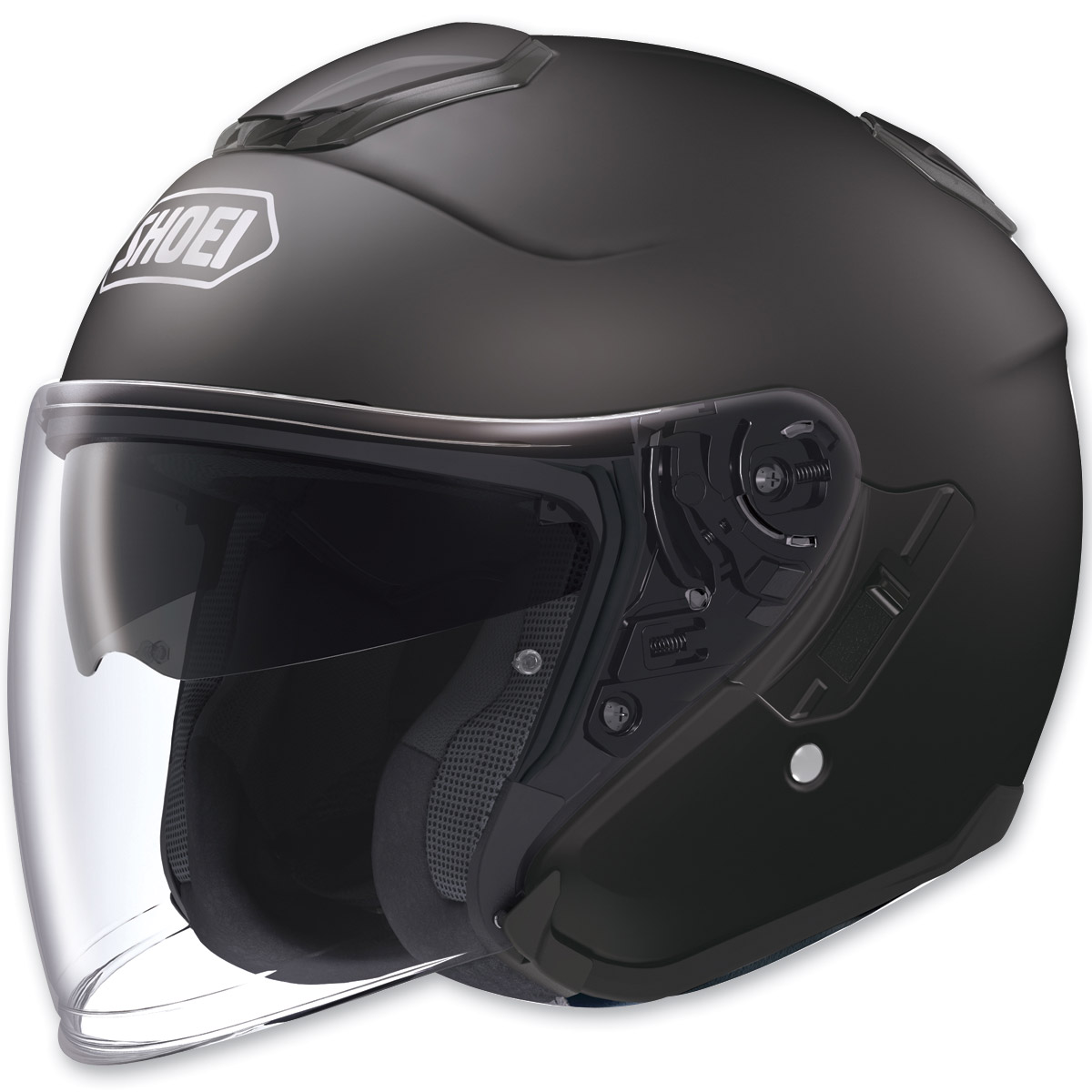 Shoei J-Cruise Open Face Matte Black Helmet