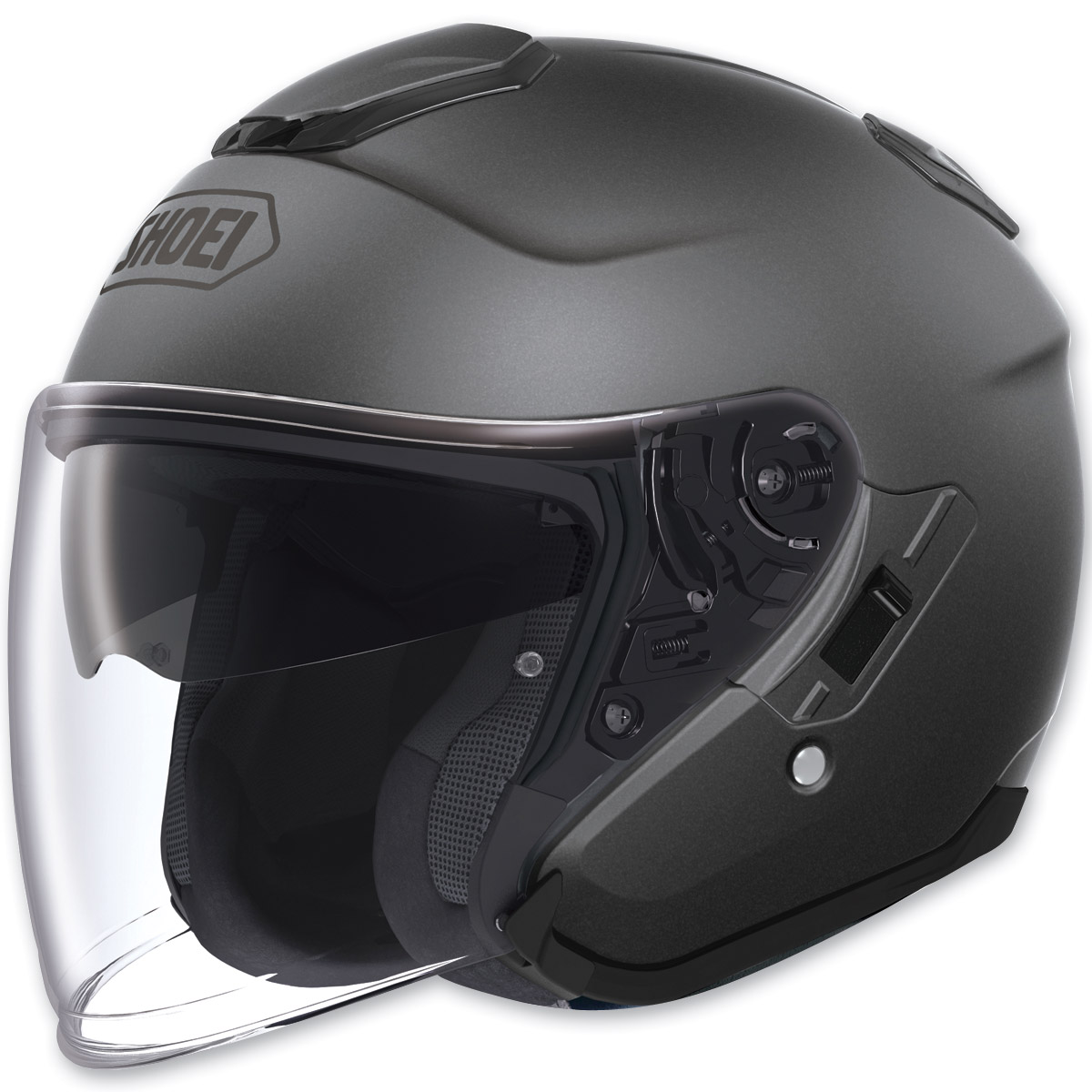 Shoei J-Cruise Open Face Matte Deep Gray Helmet