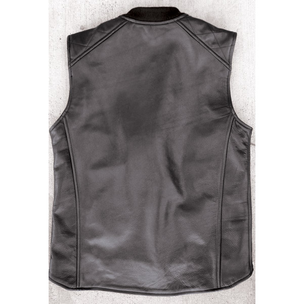 Crank & Stroker Supply Leather Slugster Vest