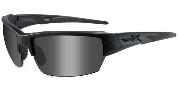 Wiley X WX Saint Black Ops/Smoke Gray w/Matte Black Sunglasses
