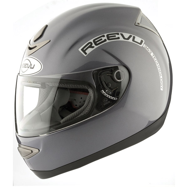 Reevu MSX1 Titanium Rear View Full Face Helmet