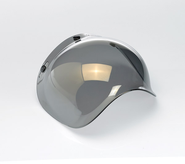 Biltwell Inc. Mirror 3-snap Bubble Shield