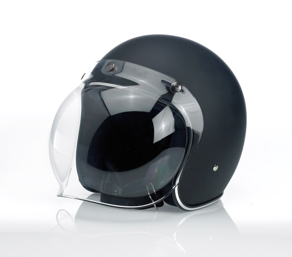 Biltwell Inc. Clear 3-snap Bubble Shield