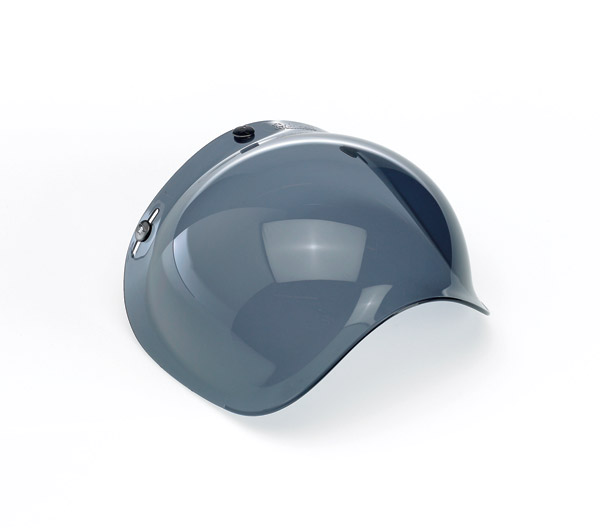Biltwell Inc. Smoke 3-snap Bubble Shield