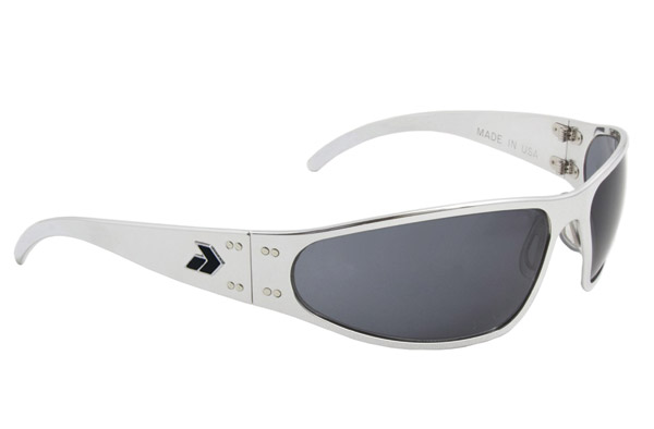 Gatorz Wraptor Polish Frame with Gray Lens Sunglasses