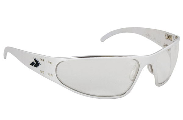 Gatorz Wraptor Polish Frame with Clear Lens Sunglasses
