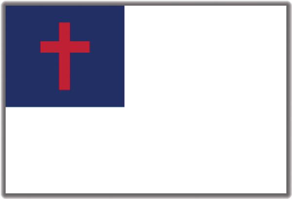 Pro Pad Christian Flag