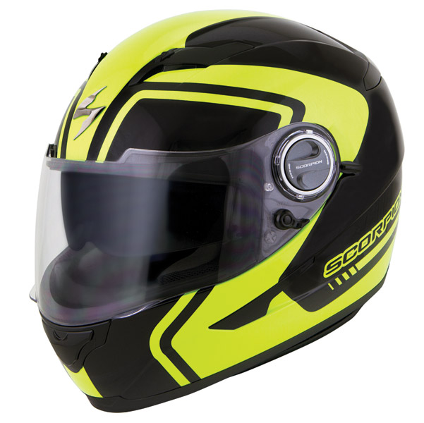 Scorpion EXO-500 West Neon Full Face Helmet