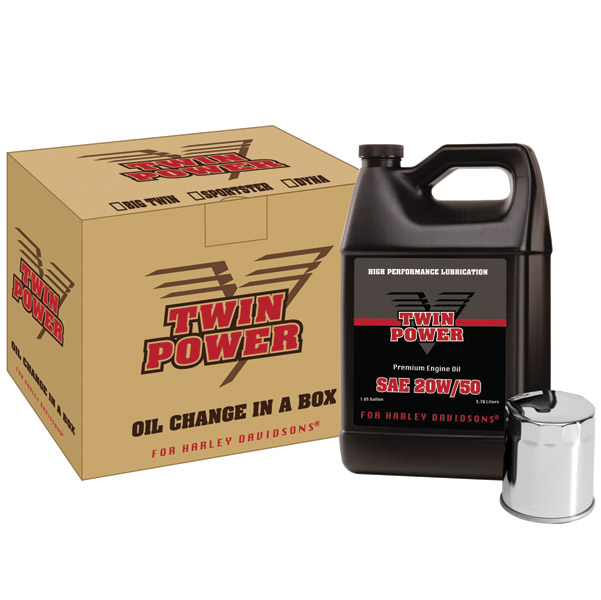 Twin Power Quick-Change Oil Kit For Evo Big Twin