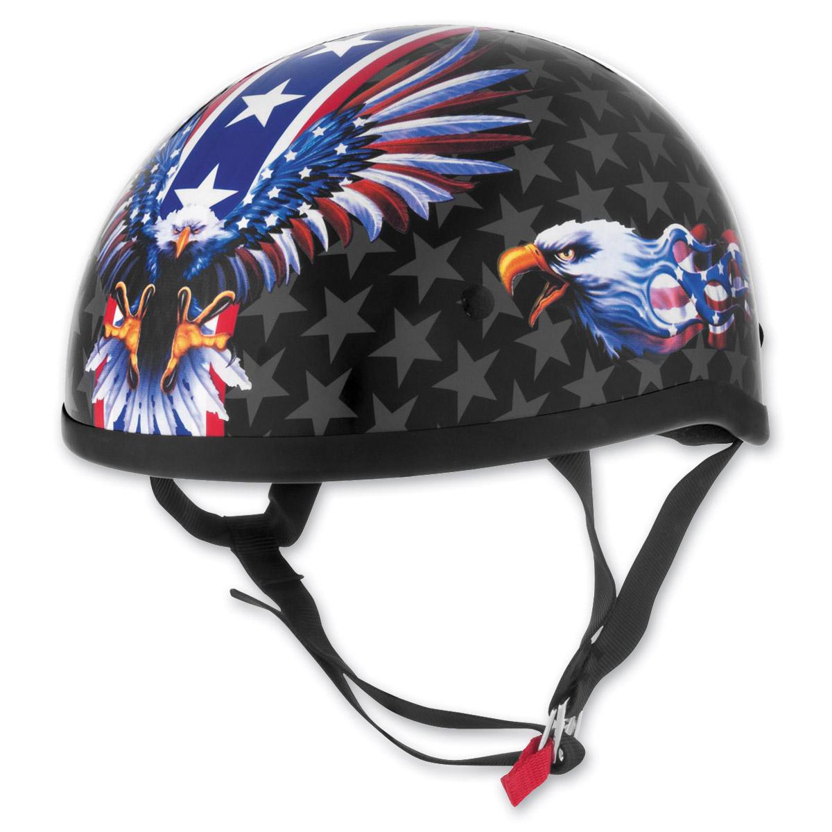 Skid Lid USA Flame Eagle Helmet