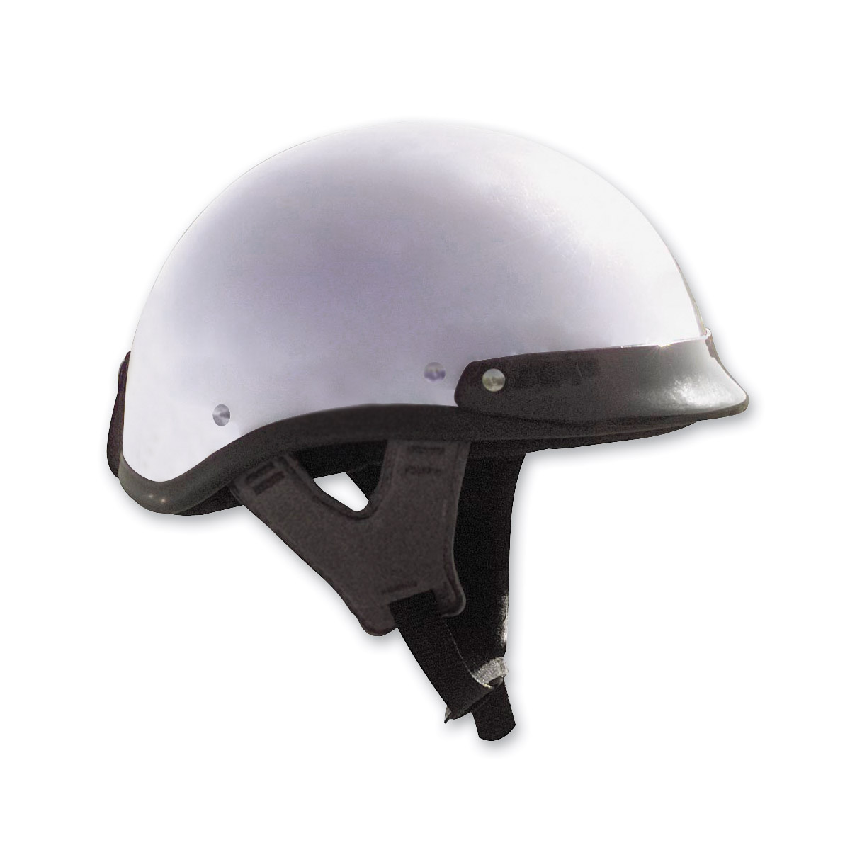 Skid Lid Traditional Chrome Half Helmet