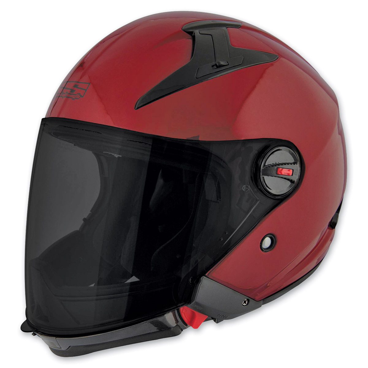 Speed and Strength SS2200 Solid Speed Wineberry Modular Helmet