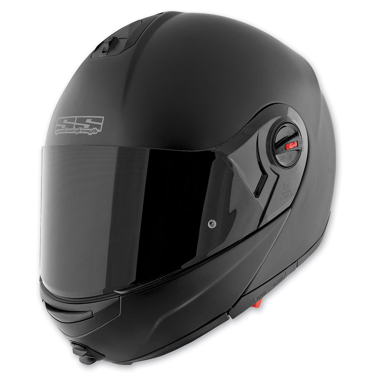 Speed and Strength Matte Black Lock and Load SS1700 Helmet