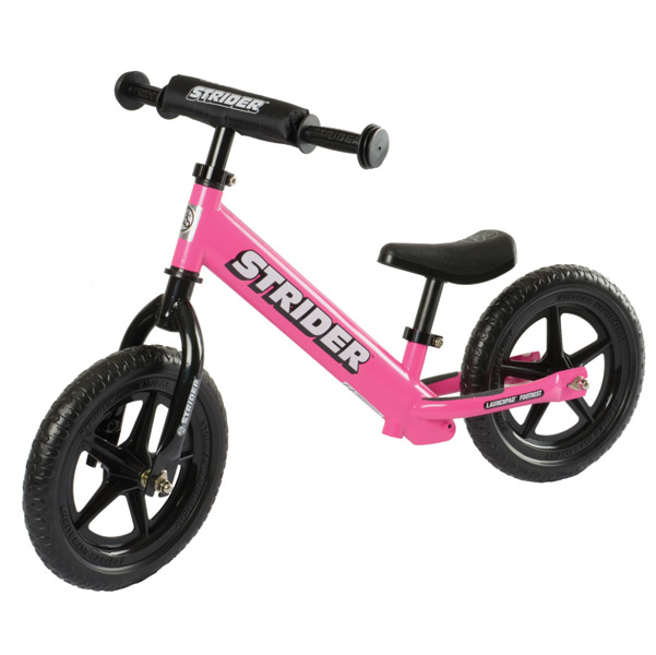 Strider Sports International Inc. Pink ST-4 No-Pedal Bike
