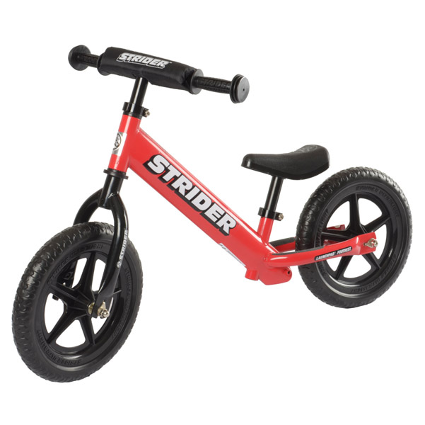 Strider Sports International Inc. Red ST-4 No-Pedal Bike