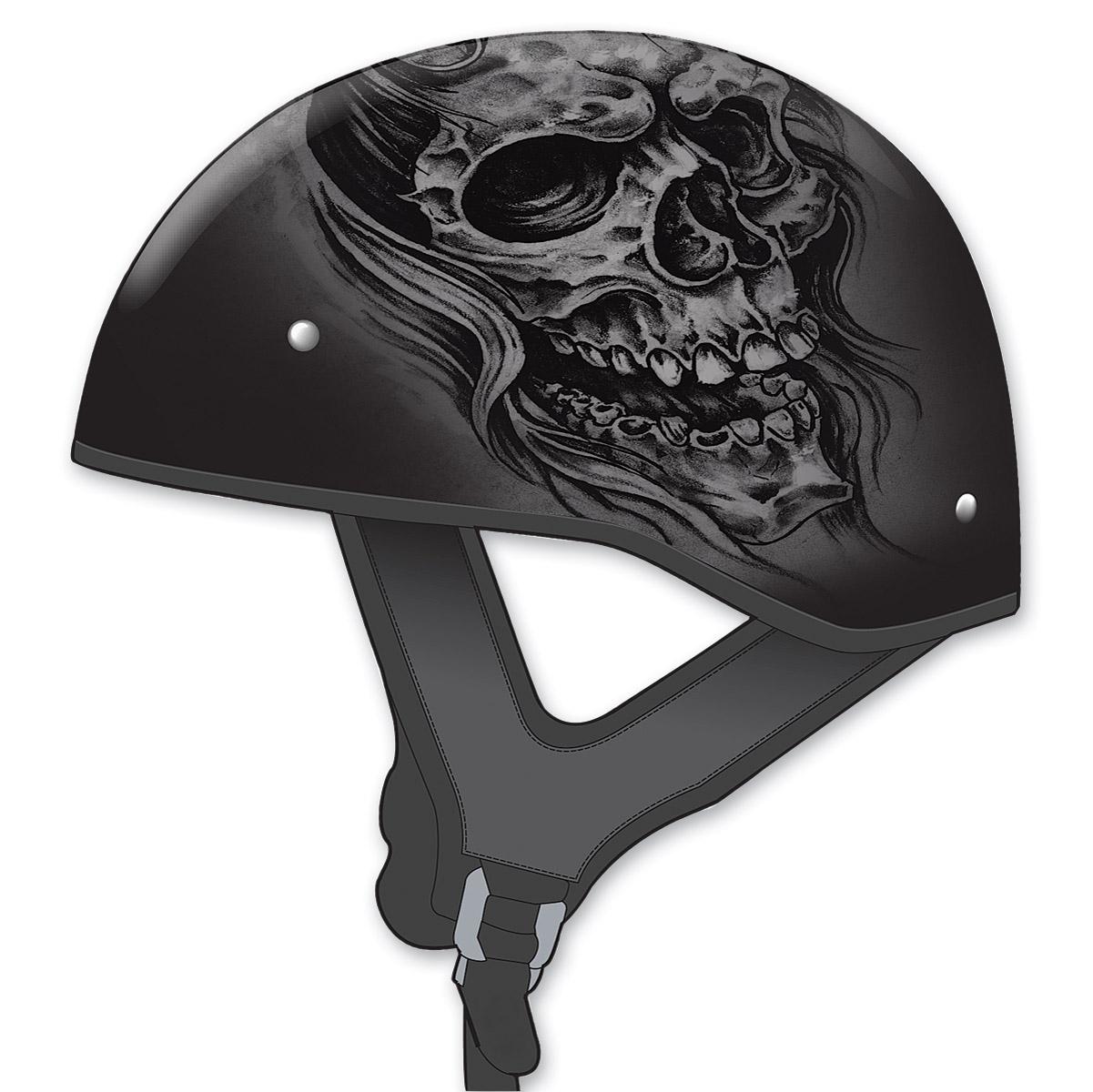 Por Half Helmets