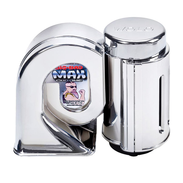 Wolo Big Bad Max Chrome Air Horn