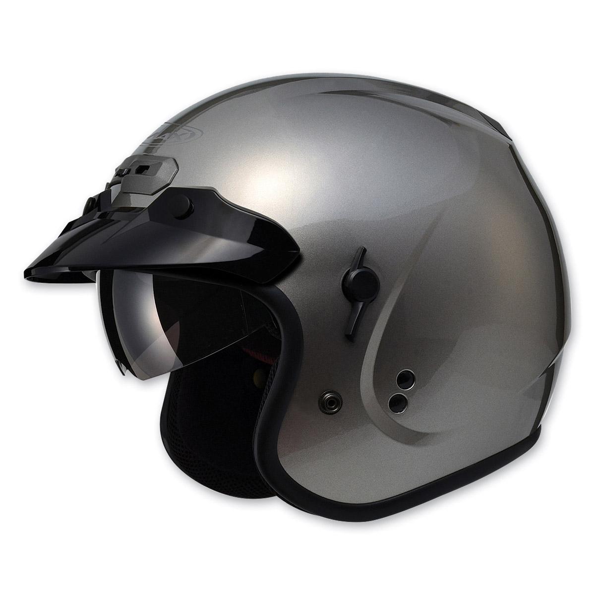 GMAX GM32 Open Face Titanium Helmet