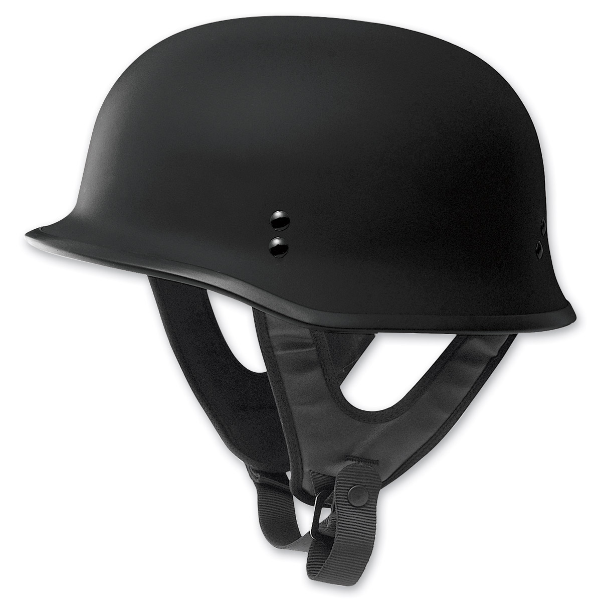 FLY Racing Street 9MM Flat Black Half Helmet