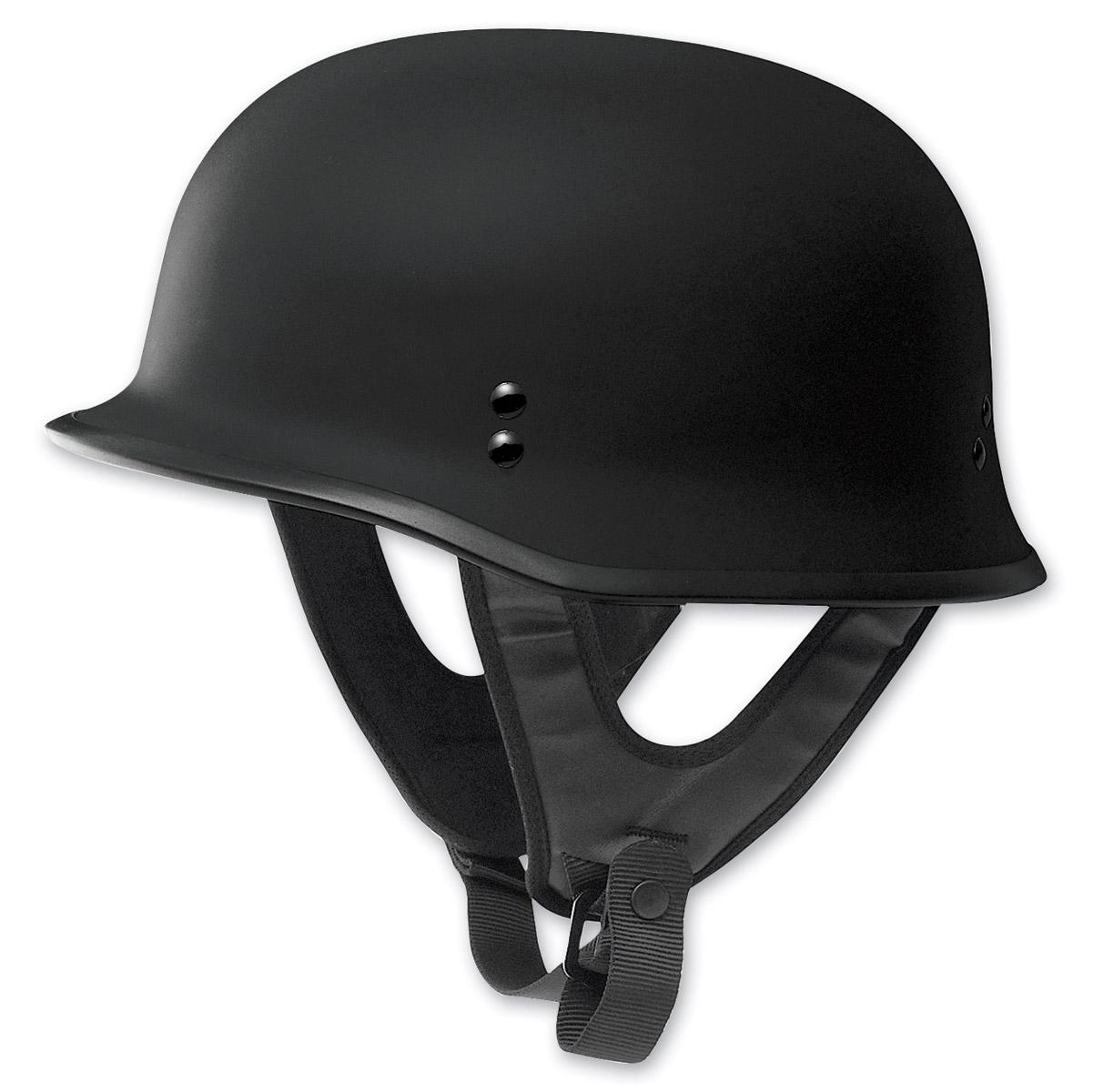 FLY Racing 9MM Flat Black Helmet