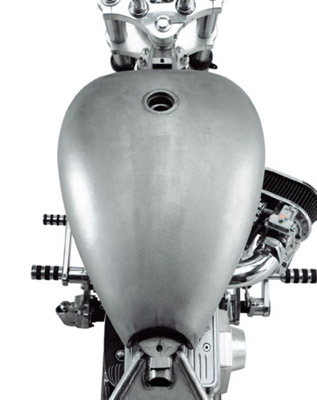 Smooth-Top Gas Tank
