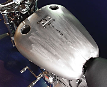 V-Twin Manufacturing Reproduction Stock Type Gas Tank