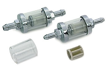 J&P Cycles® In-Line Fuel Filter