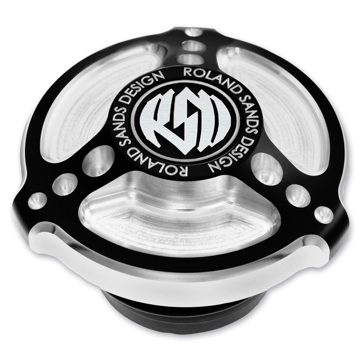 Roland Sands Design Tracker Gas Cap Contrast Cut