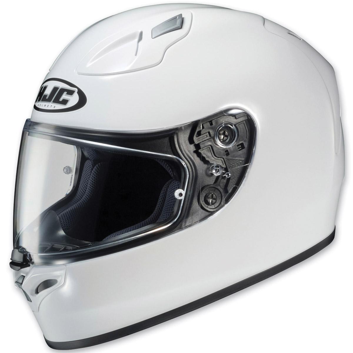 HJC FG-17 White Full Face Helmet