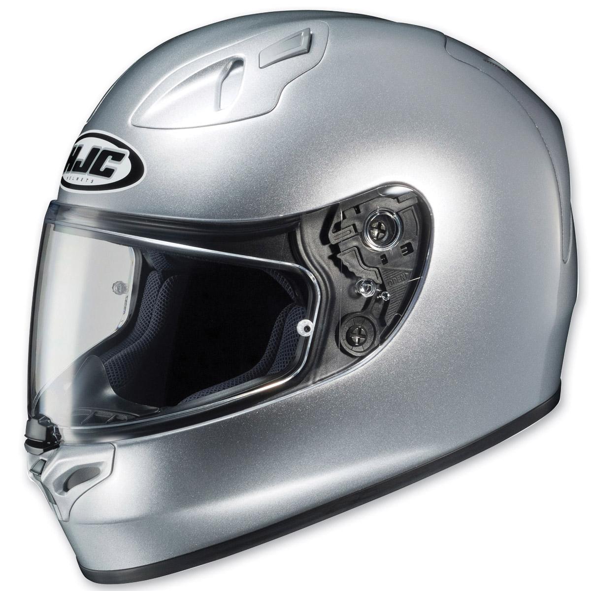 hjc fg 17 silver full face helmet 722 072 j p cycles. Black Bedroom Furniture Sets. Home Design Ideas