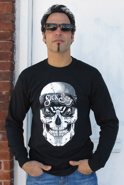 Sick Boy Unstoppable Bandana Skull Long-Sleeve T-shirt
