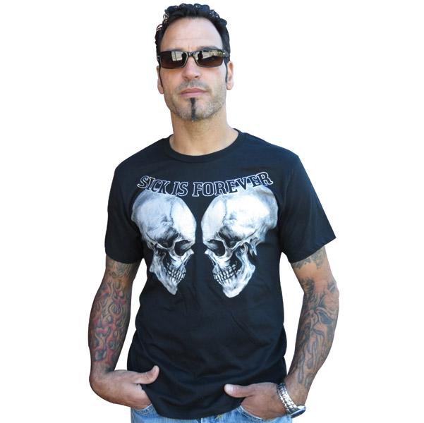 Sick Boy Sick Is Forever Black Short Sleeve T-shirt