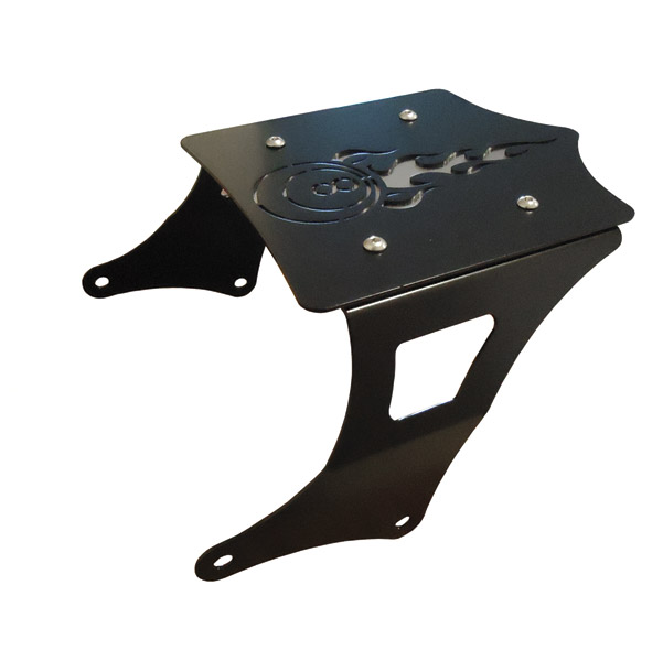 BDD Custom 8-Ball Luggage Rack for Touring Models