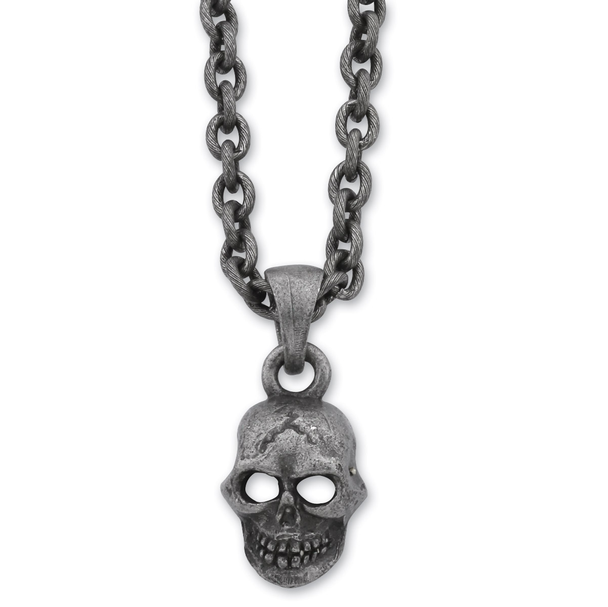 AMiGAZ Small Hack Necklace w/Skull XL