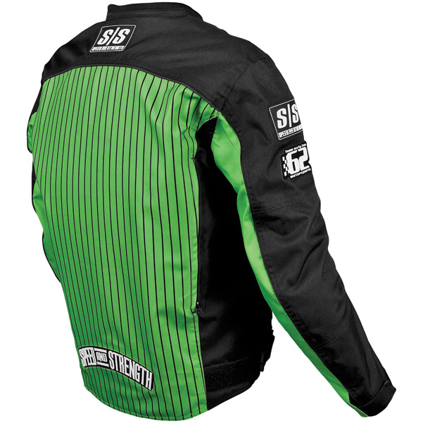 Speed and Strength 62 Motorsports Textile Green Jacket