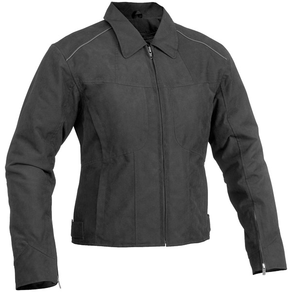 River Road Topaz Women's Black Textile Jacket