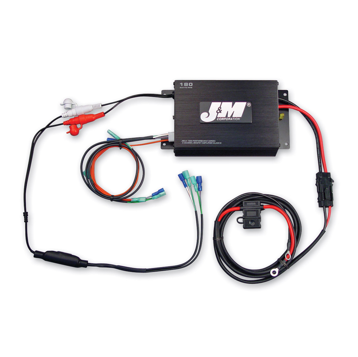 J&M 2 Chanel 180W Amplifier