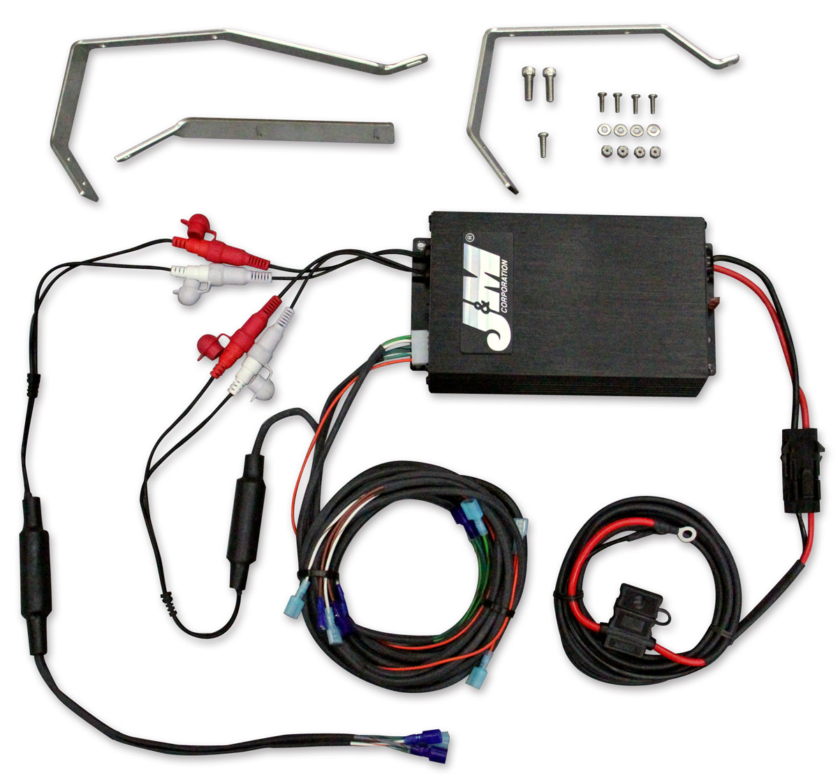 J&M 4 Chanel 360W Amplifier