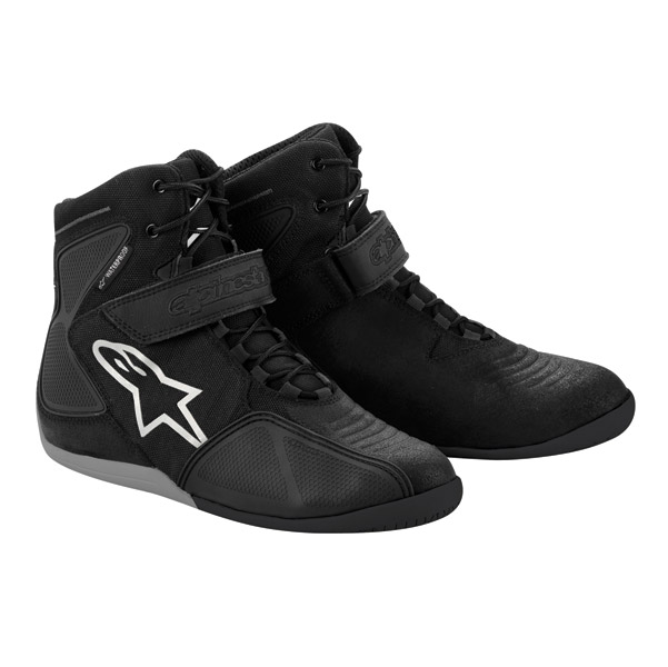 Alpinestars Men′s Fastback Black/Charcoal Waterproof Shoe