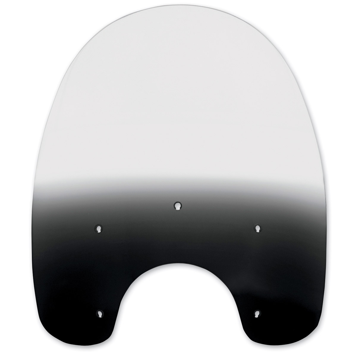Memphis Shades 15 in Plastic for HD Detachable King Size Windshield BLACK