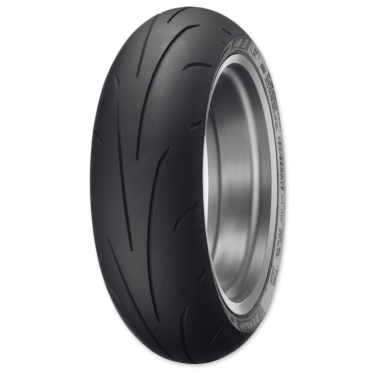 Dunlop Sportmax Q3 190/55ZR17 Rear Tire
