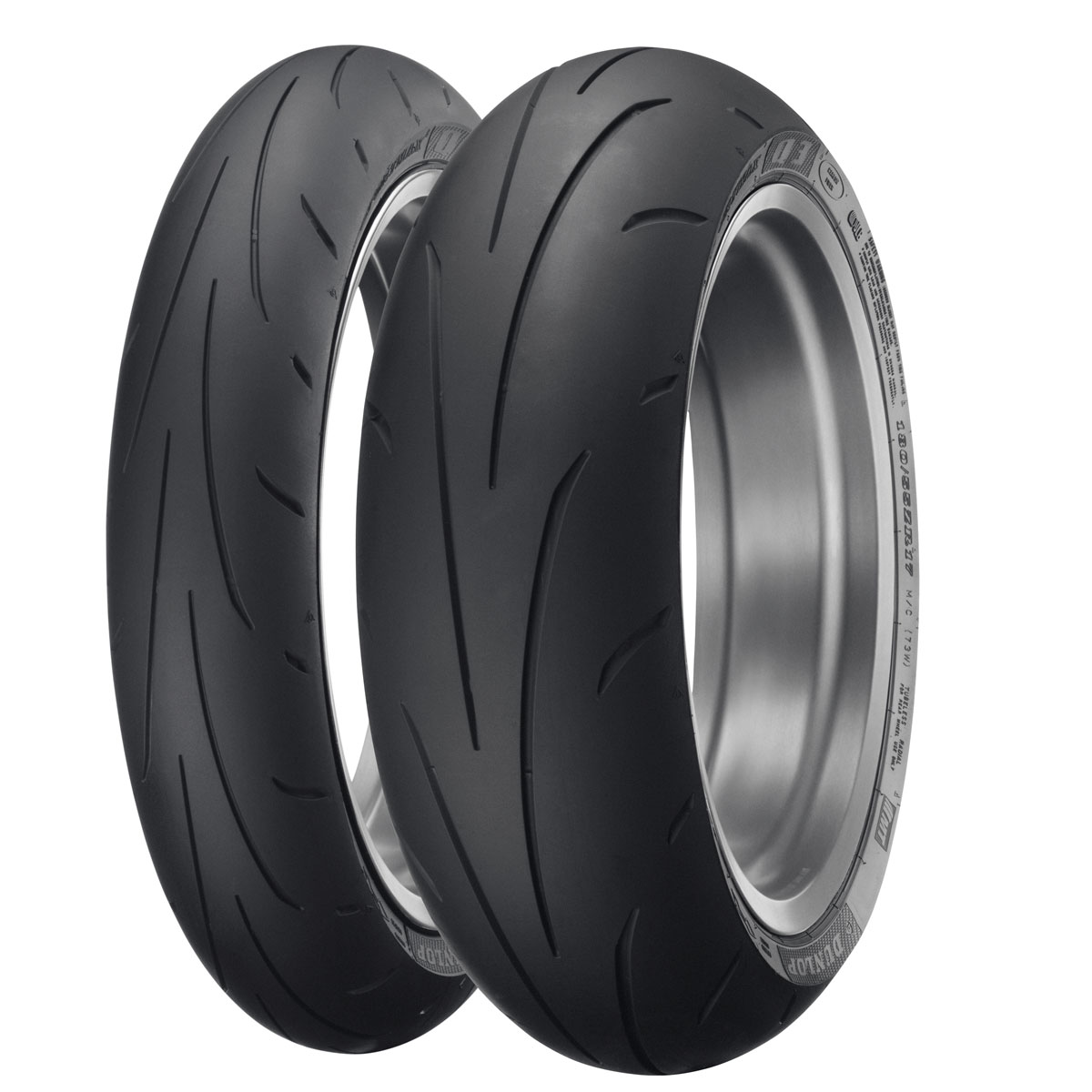 Dunlop Sportmax Q3 190/55ZR17 Rear Tire